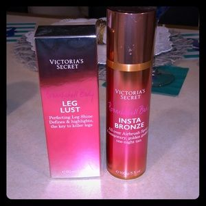 NWT! VS body bronze and highlight line